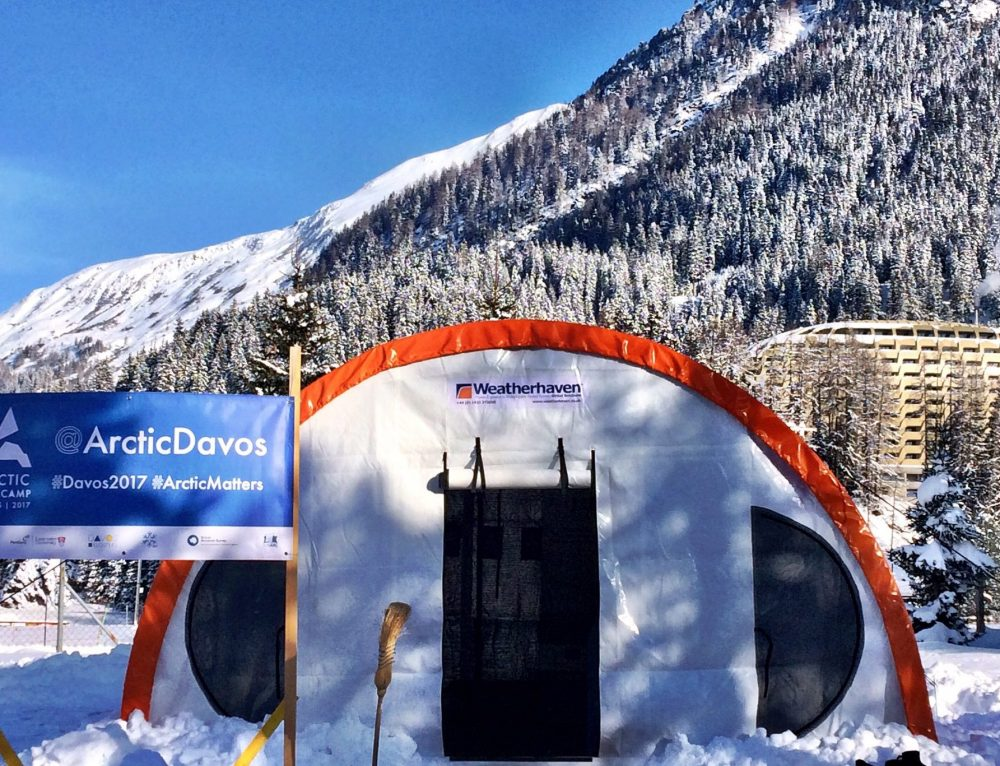 Weatherhaven Supports Arctic Basecamp At World Economic Forum