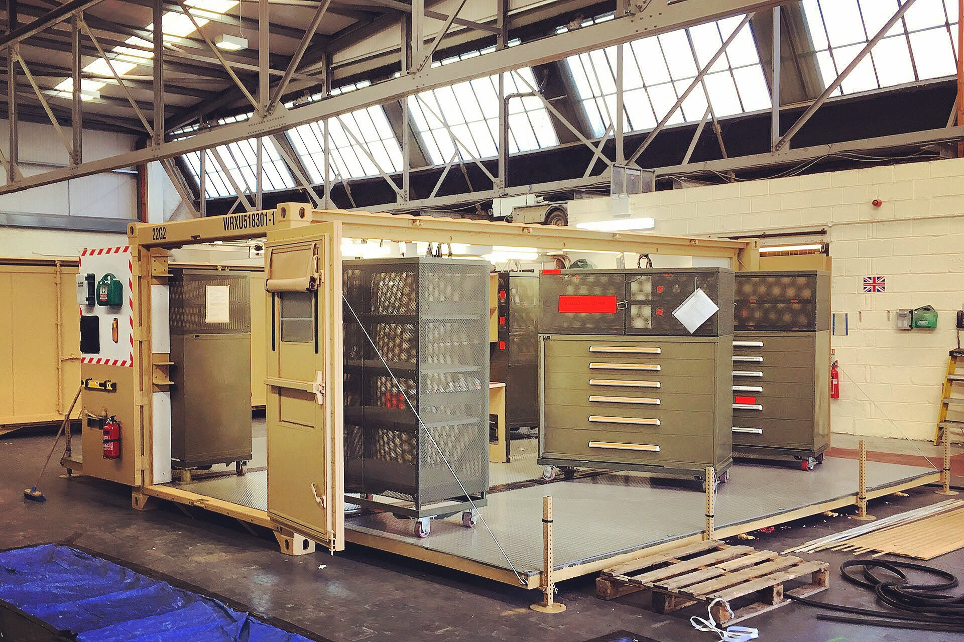 MECC Military Shelter