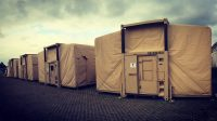 EHMECC Military Command Post Shelters In Belgium